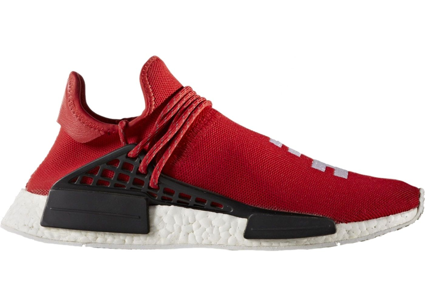 brand new 8286e 774ca adidas NMD HU Pharrell Human Race Scarlet | Shoes in 2019 ...