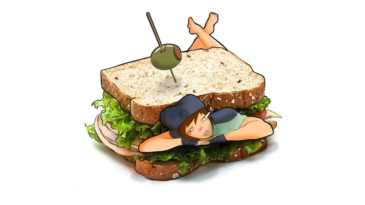 Jill sandwich jill sandwich sandwiches gamer girl