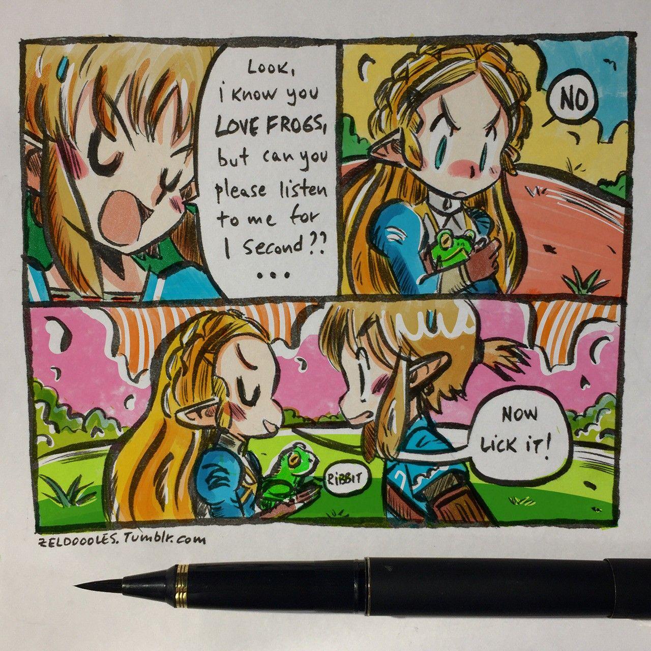 Zeldoodlestumblrcom  Zelda Breath of the Wild  Pinterest