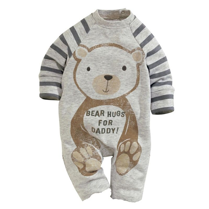 6eca895277e 2016 Christmas Gifts Baby Rompers One-piece Costumes Kids Long Sleeve  Spring Autumn Baby Wear Clothing Baby Boy Girl Clothes