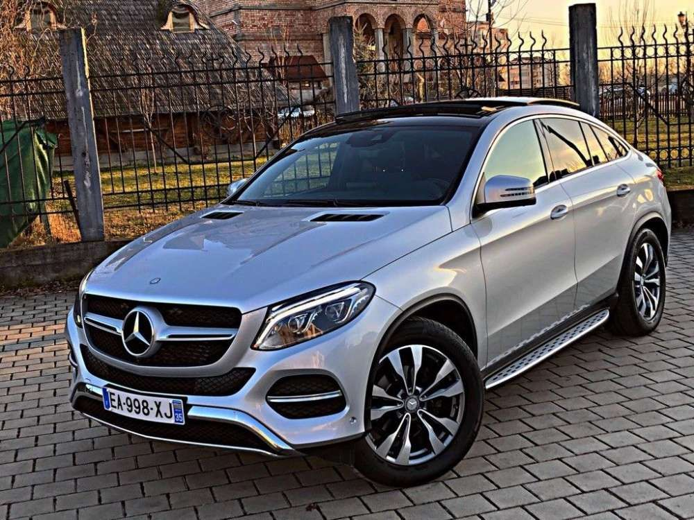 2016 Mercedes Benz Gle 350d Coupe 4matic 9g Tronic Suv Tags 2016