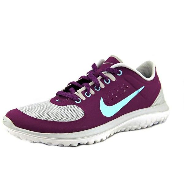low priced d5ce8 c0f6c Nike FS Lite Run Women Sneakers (4.285 RUB) ❤ liked on Polyvore featuring  shoes, purple, nike footwear, platinum shoes, nike shoes, nike i synthetic  shoes