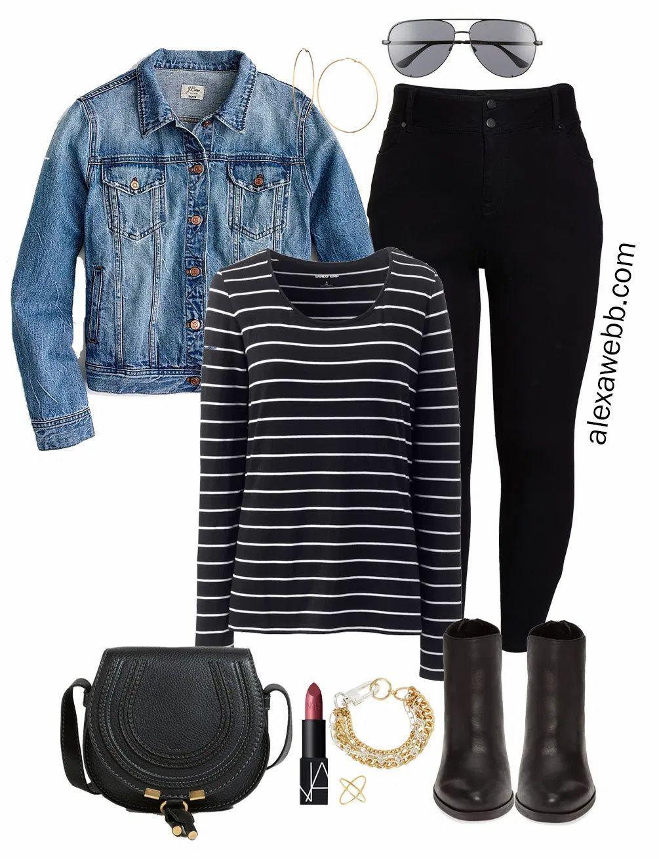 Plus Size Fall Capsule Wardrobe - Alexa Webb