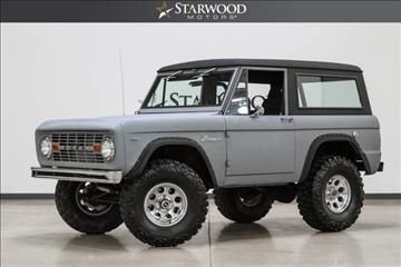Hi Look What I Found 1967 Ford Bronco Dallas Tx In Texas Listed For 61 888 Bronco Ford Bronco Classic Bronco