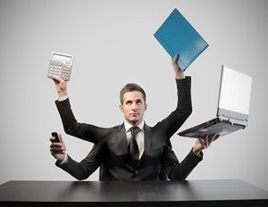 """Will multitasking really help you accomplish more in a limited amount of time? https://www.td.org/Publications/Blogs/Career-Development-Blog/2015/12/Multitasking-Mutes-Performance Express your opinion with a """"Comment,"""" and a """"Re-Pin."""""""