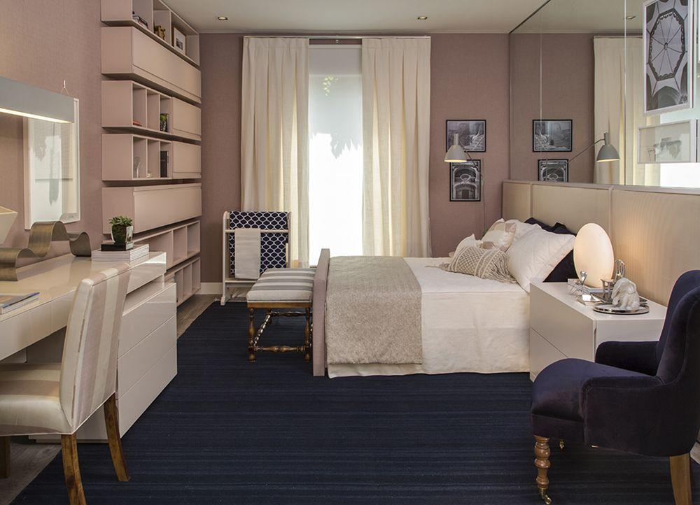 Charme e suavidade para ela cortinas de linho quarto de - Cortinas dormitorio moderno ...