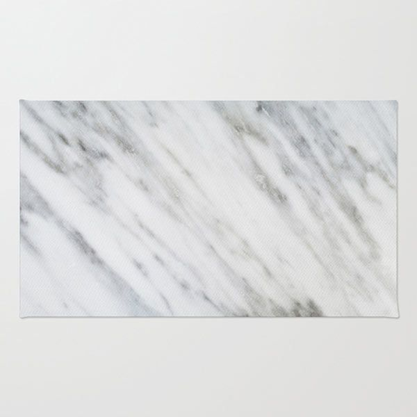 Chevron Marble Rug: Fresh From The Dairy: Rugs