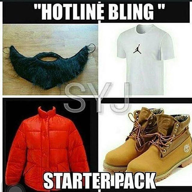 6PM in New York | • starter packs | Hotline bling, Drake