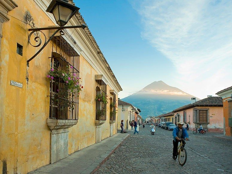 """Culture: 79.5Friendliness: 79Atmosphere: 78.2Restaurants: 63.3Lodging: 67.5Shopping: 50""""Charming boutique hotels, art galleries and small restaurants"""" landed Antigua de Guatemala on our readers' list of top cities. It's a """"must-see town"""" with """"delicious food, bread and people."""""""