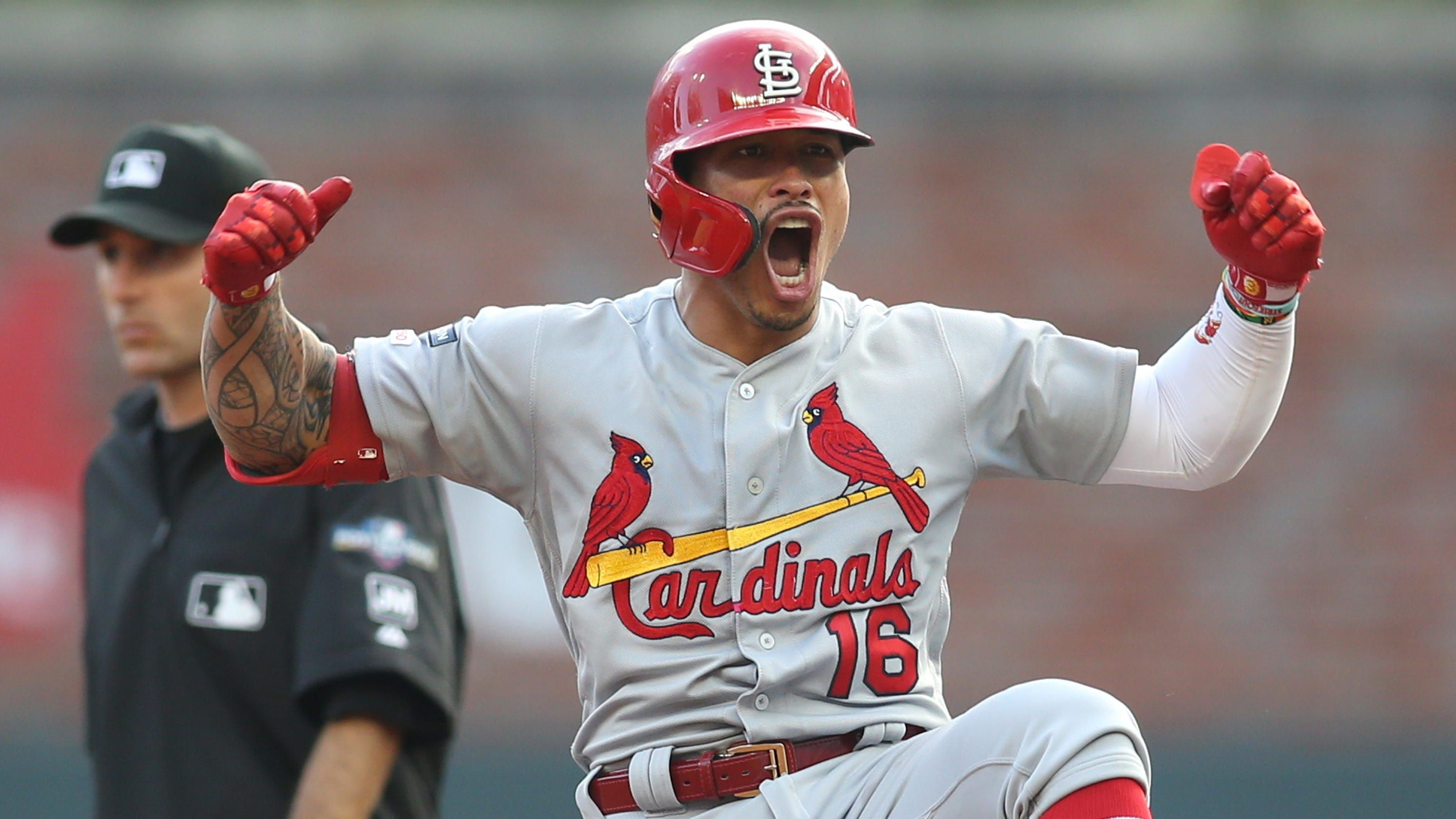 Behind Historic First Inning Cardinals Advance To Nlcs With Blowout Win Vs Braves In Nlds Game 5 Braves Cardinals Win Cardinals