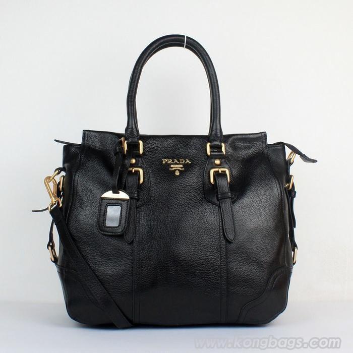 Prada bags and Prada handbags Prada 8033 Black Totes 324