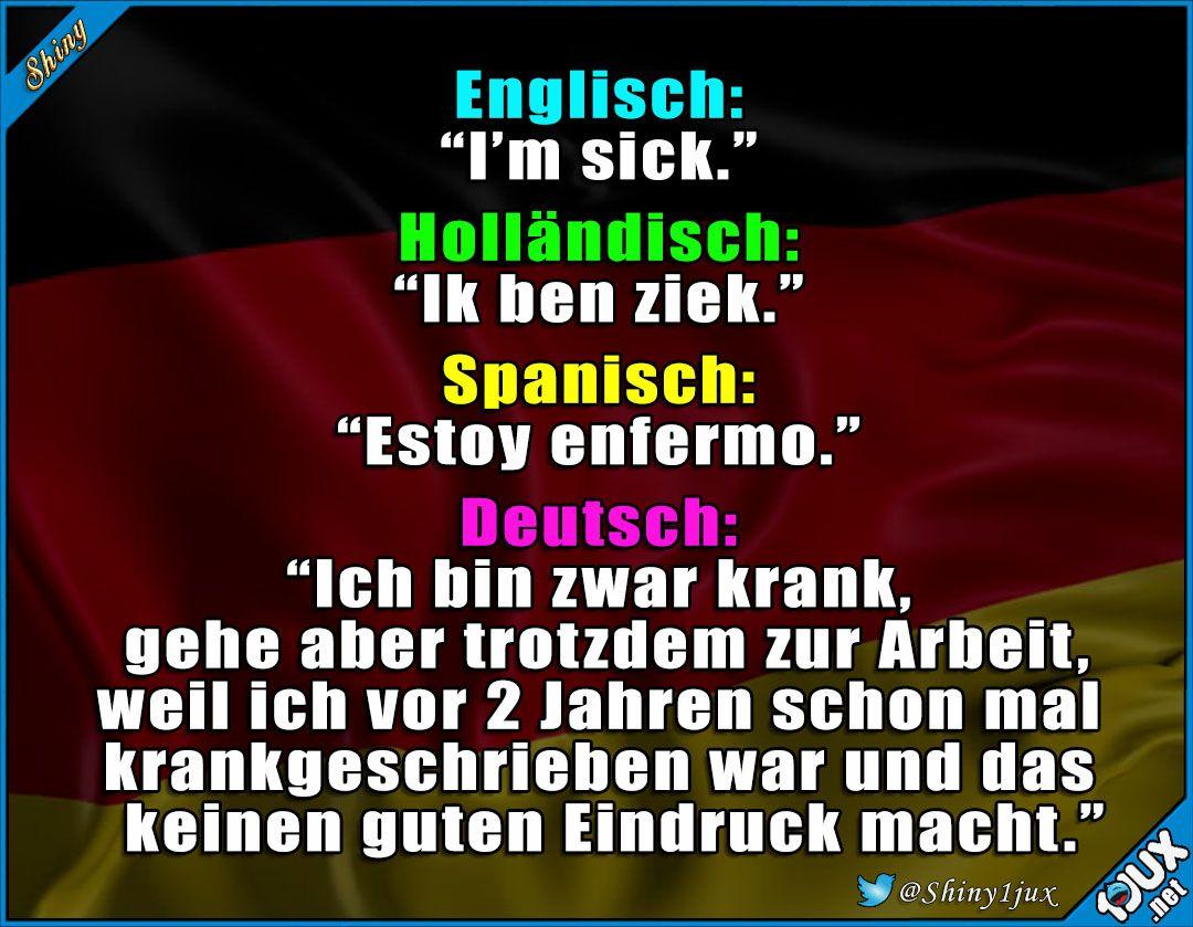 Immer dieses schlechte Gewissen ^^ #Deutsch #typisch #