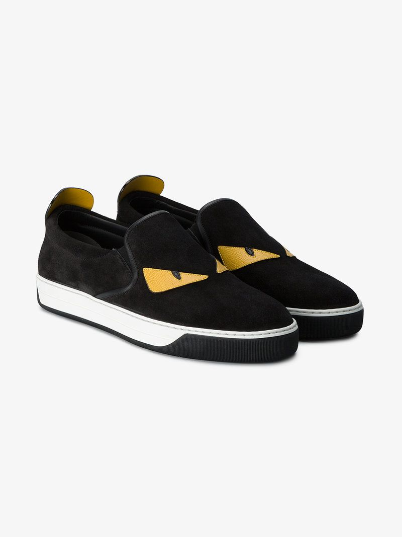 FENDI BAG BUGS SLIP-ON SNEAKERS.  fendi  shoes    a1c6c9ec83a4f
