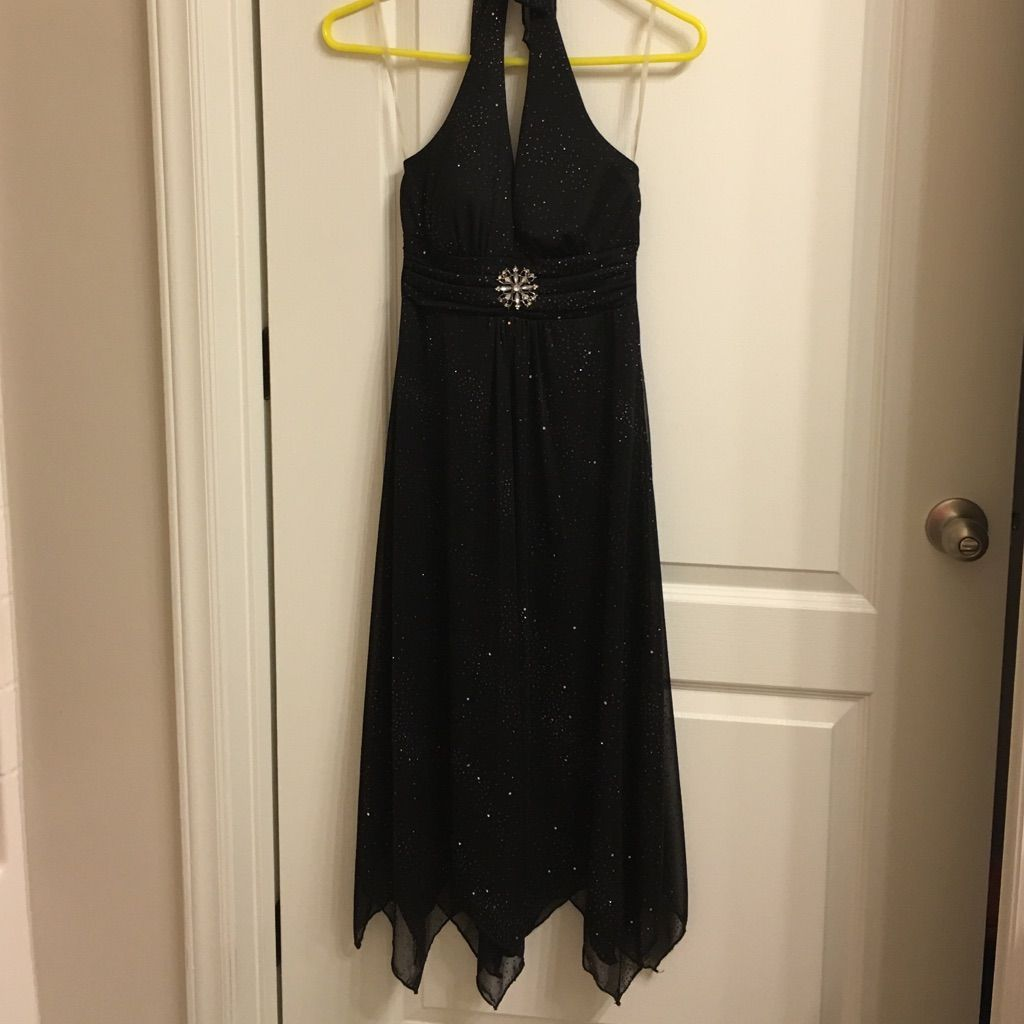 Sparkly black dress by speechless products