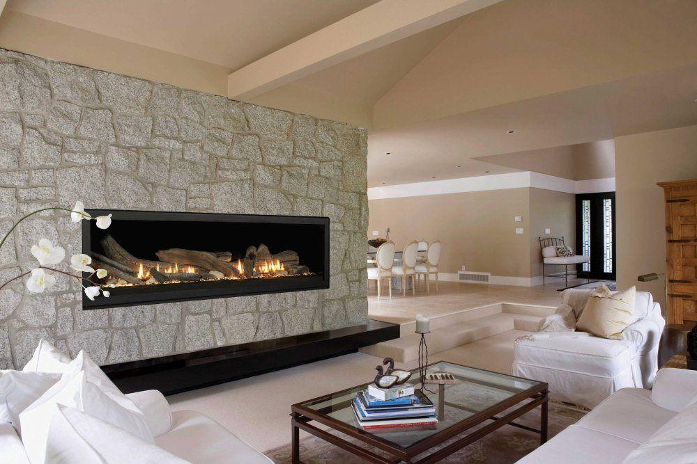 sleek modern electric fireplace More