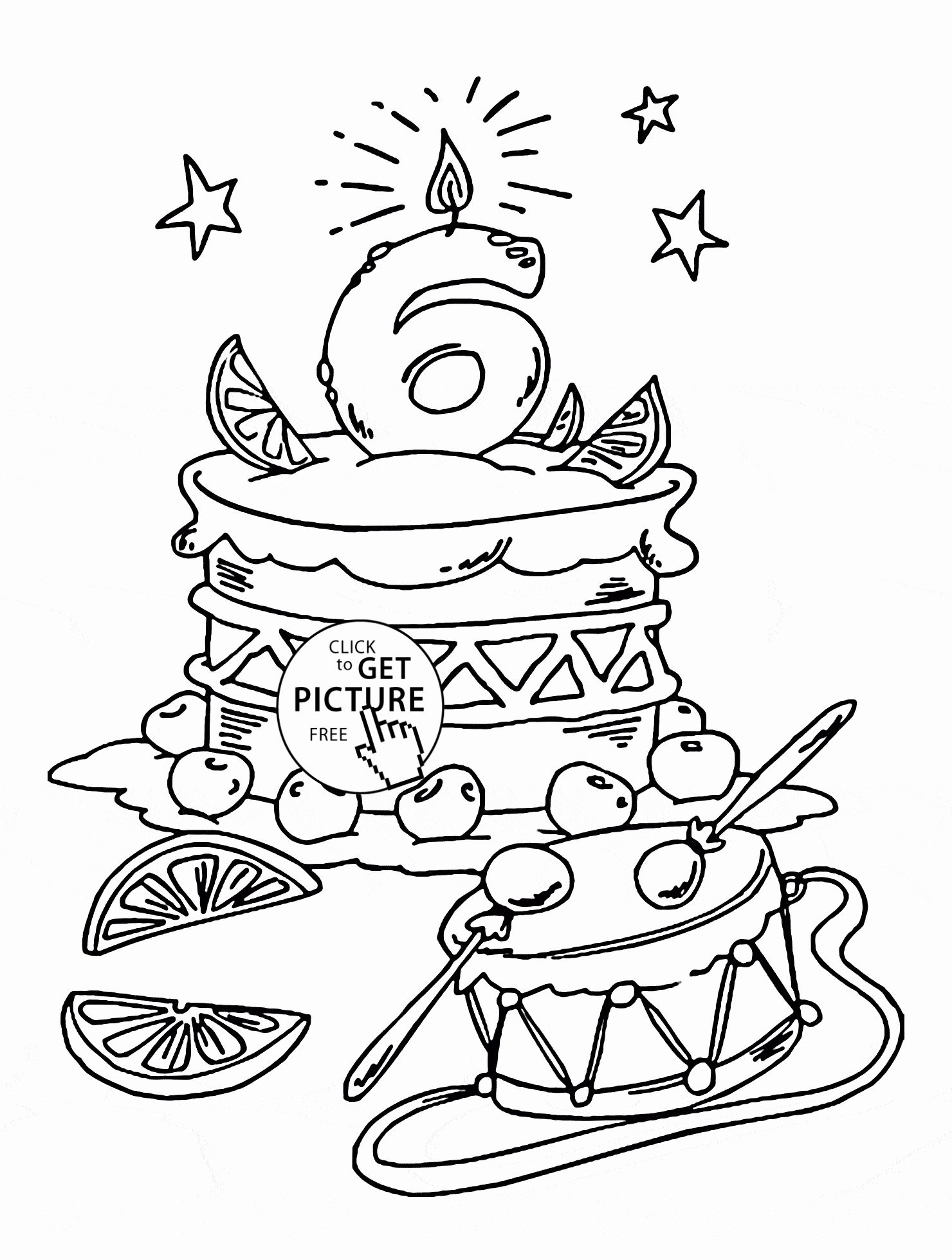 Happy Birthday Coloring Books Best Of Happy 6th Birthday Coloring Page For Kids Ho Happy Birthday Coloring Pages Holiday Coloring Book Happy Birthday Printable