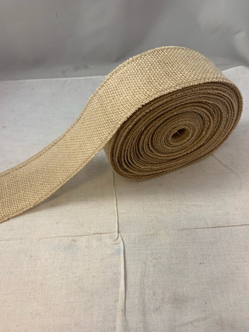 2 Florida Sand Burlap Ribbon 10 Yards Serged Made In Usa In 2020 Burlap Ribbon Burlap How To Make