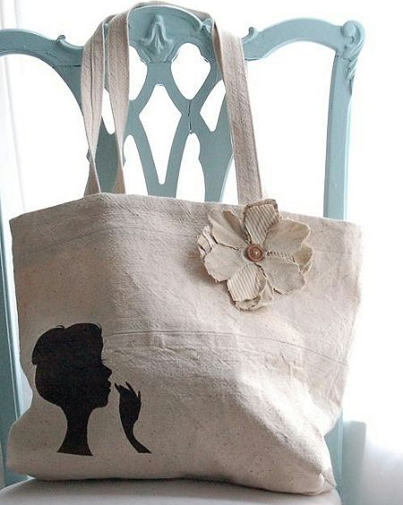 Canvas tote bag, canvas purse | Handtaschen | Pinterest | Canvas ...