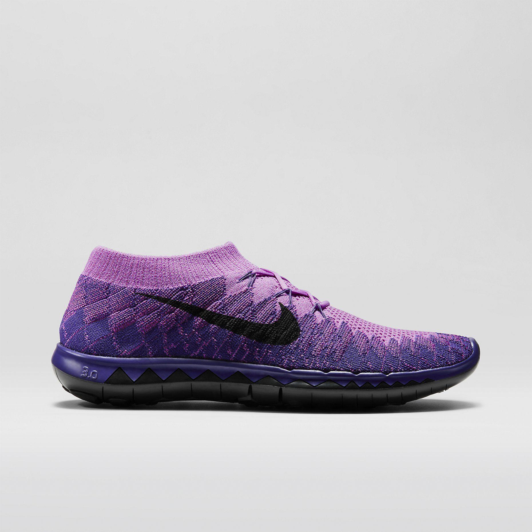 venta baúl aclaramiento gran sorpresa Nike Free 3.0 Flyknit Para Mujer Zapatos Tenis De Color Púrpura envío libre asequible 9ajAv50CK