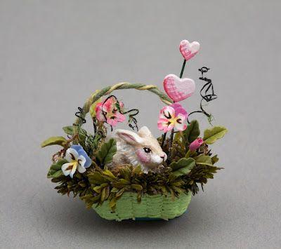 Karen Markland bunny basket