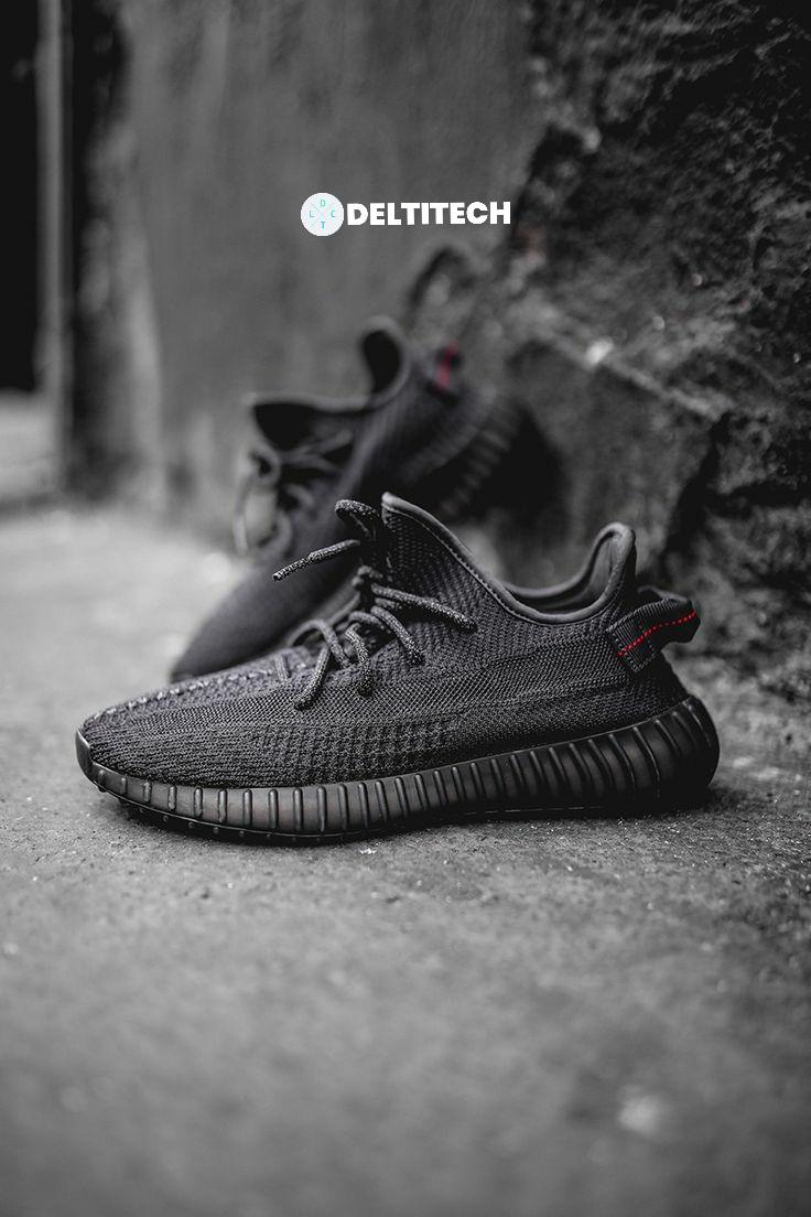 yeezy boost 350 v2 black in stock
