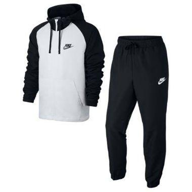 Muške trenerke Nike Lifestyle - LFS TRENERKA M NSW TRK SUIT HD WVN  861772-011 bd54d96d47056