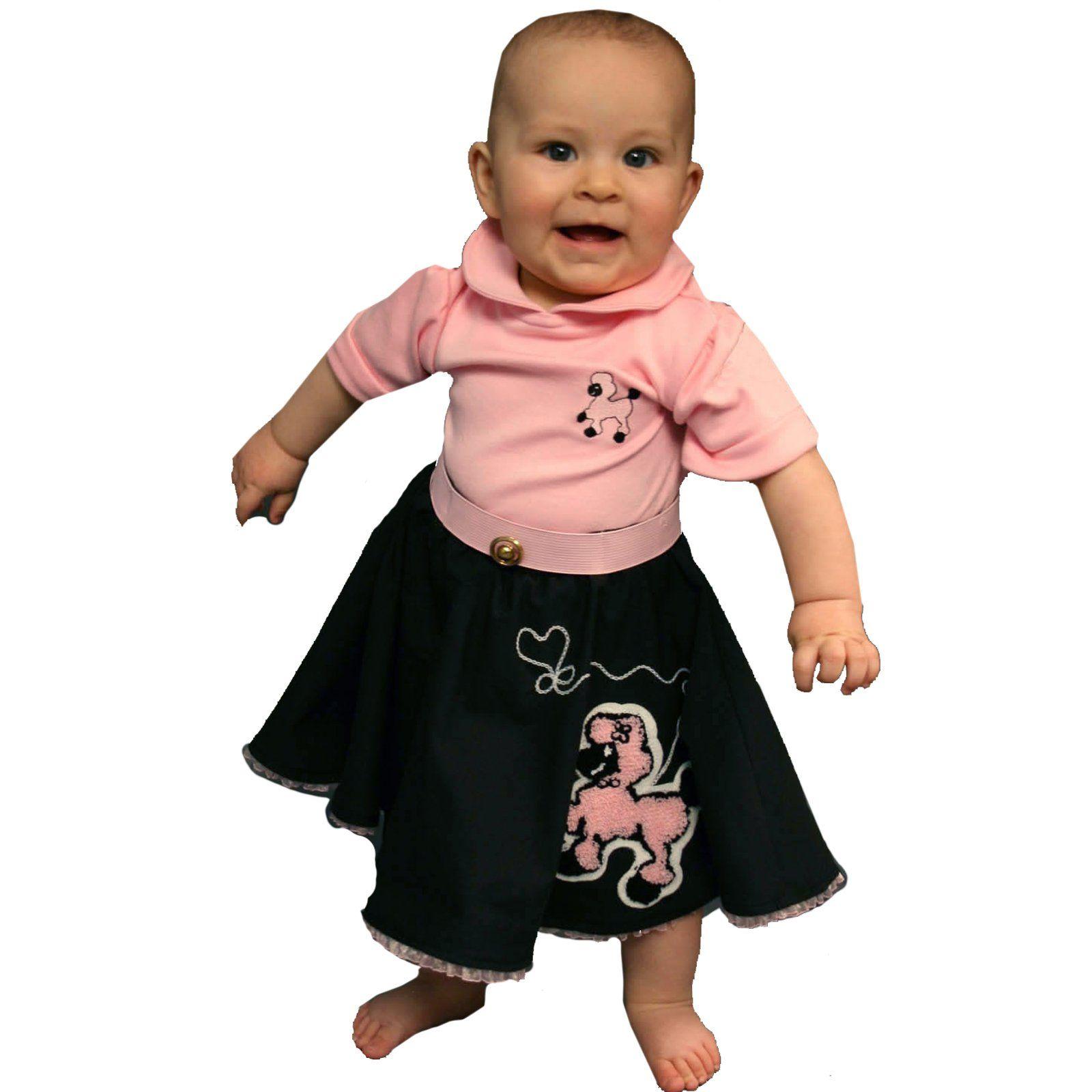 Daviinas Costume Bodysuit CostumeInfant CostumesPoodle SkirtsPoodlesPink