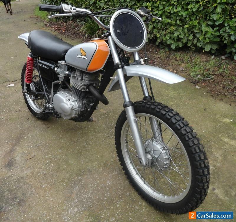 1975 Honda XL 250 Motorcycle #honda #xl250 #forsale #unitedkingdom