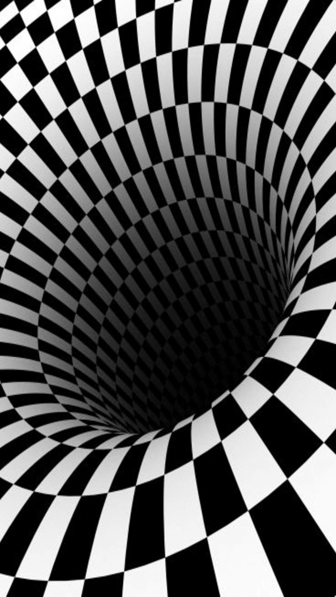 Pin by Lisa Green on black and white Optical illusions