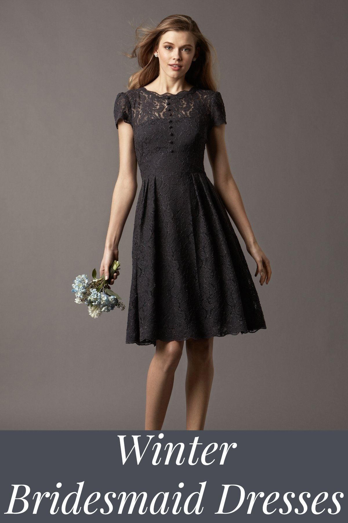 Winter bridesmaid dresses for every style bridesmaids pinterest