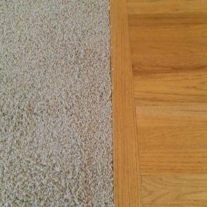 Wood Floor Transitions To Carpet