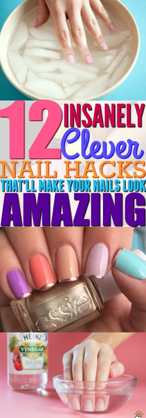 12 lazy girl summer nail hacks that are seriously life changing 12 lazy girl summer nail hacks that are seriously life changing solutioingenieria Images