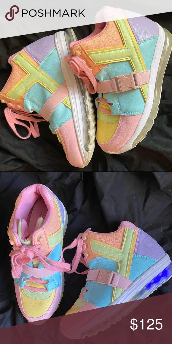 QOZMO AIIRE PASTEL SNEAKERS | Yru shoes
