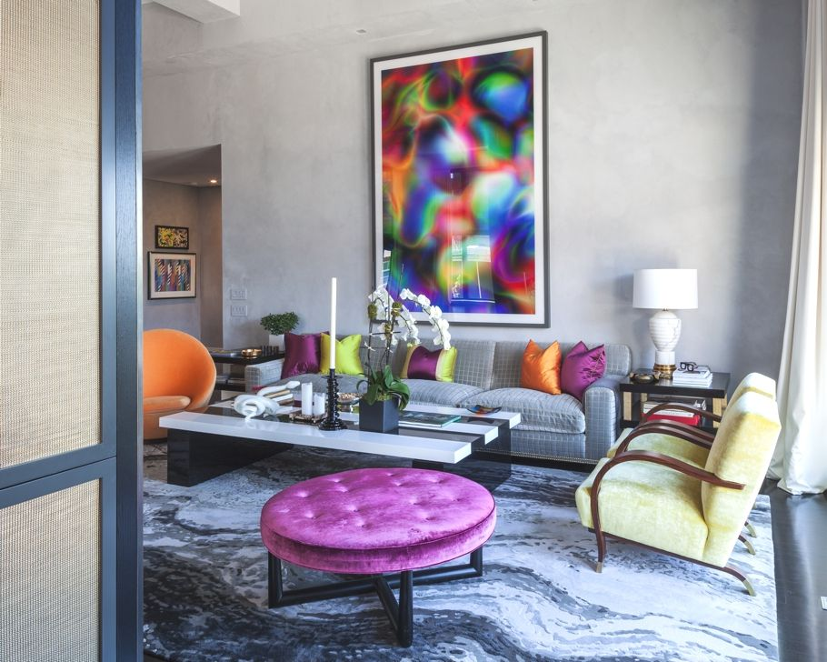 Jamie Drake jamie drake's trendy new york apartment - http://www.adelto.co.uk
