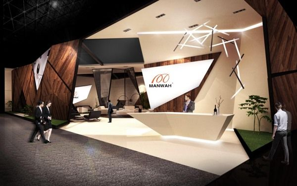 Exhibition Stand Interiors : Manwah by ika noviyanti via behance architecture