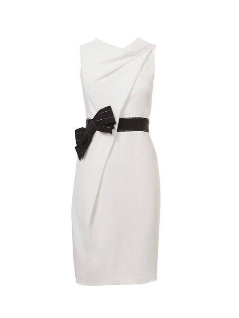 Vestido (Patrón Burda) | Costura y Labores | Pinterest