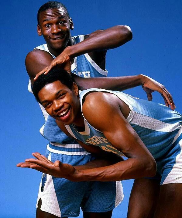 College Greats Michael Jordan The Only Man That Could Stop Mj