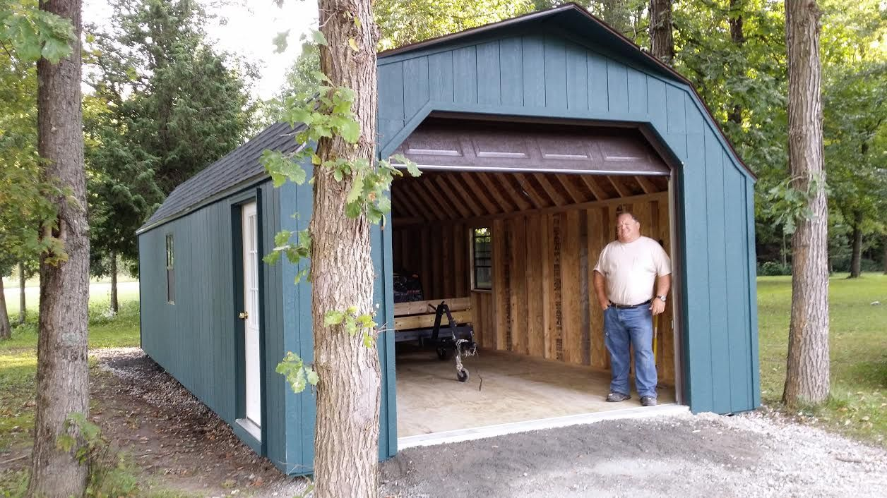 14' X 32' High Wall Portable Garage delivered near Perth