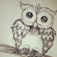 Cute Owl Drawings Tumblr Only With Love Owls Pinterest Hipster