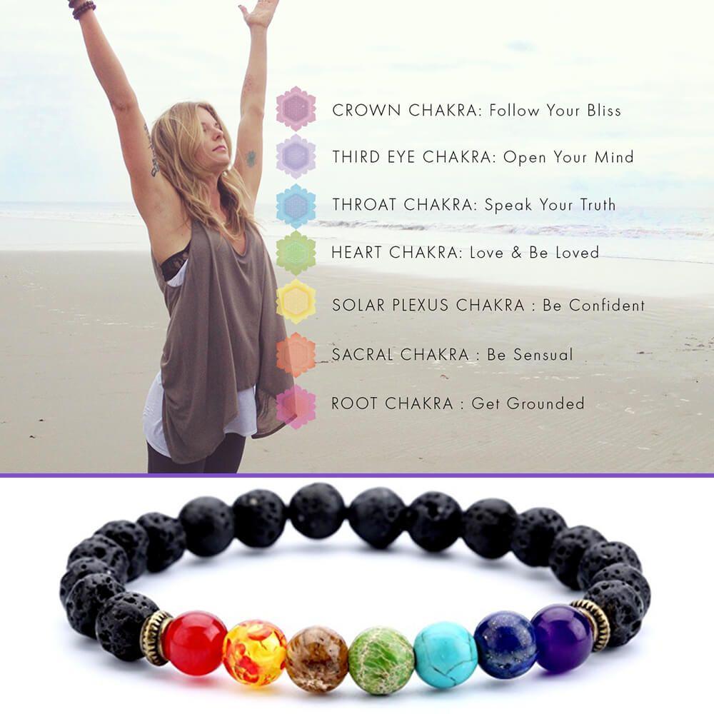 Best Chakra Bracelets Meaning Amp Benefits Yoga Blog