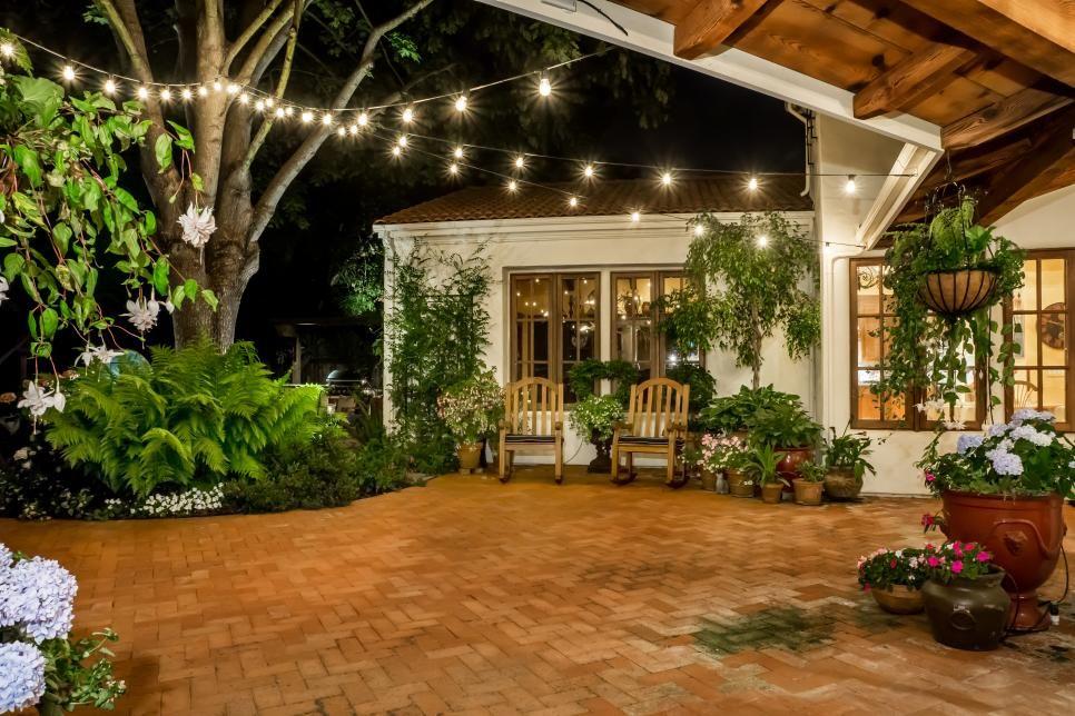 Tuscan Style Patio Backyard