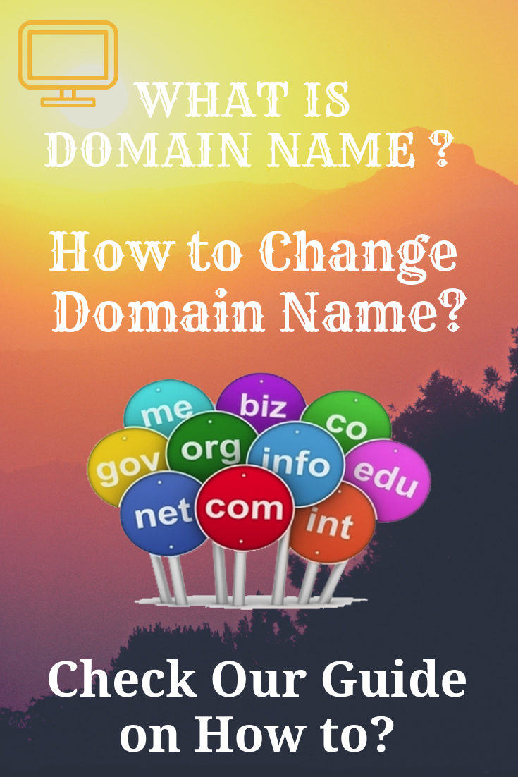 This guide has an answer for how to change domain Name and