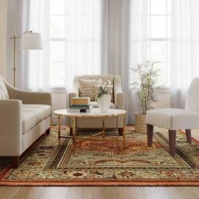 Floral Woven Accent Rug Threshold Interior Design Rugs Interior