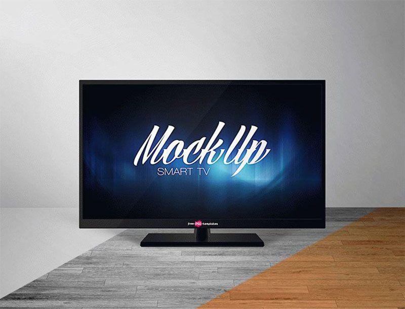 Free Smart Tv Mockup Psd