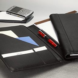 Leather Resume Portfolio Essential Folio  Leather Portfolio Leather Pad Holder Padfolio .