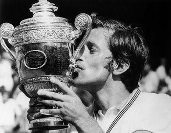 Jan Kodes à Wimbledon en 1973