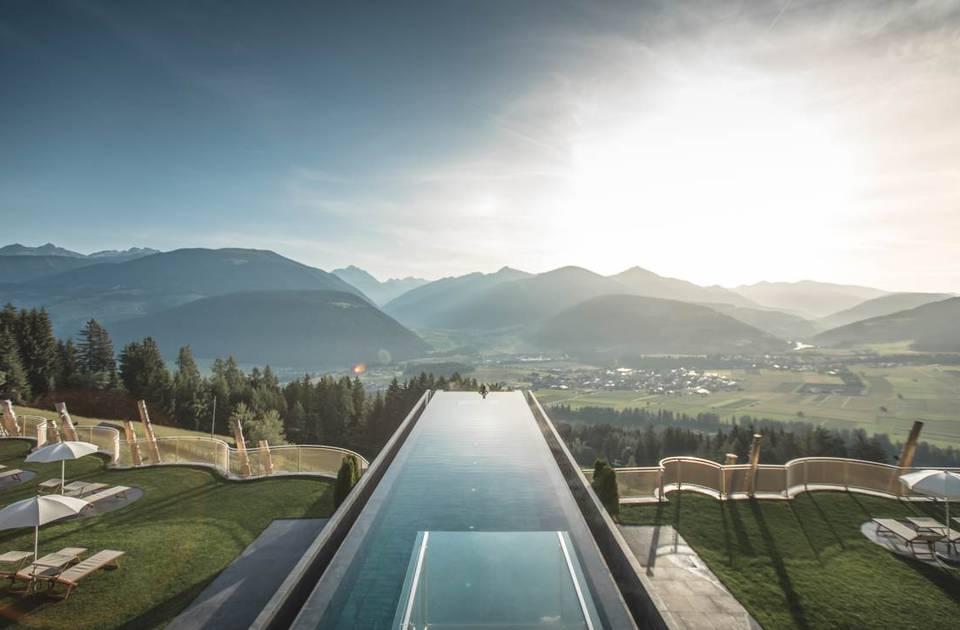 Sky Pool Hotel Hubertus Hotel Hubertus Hotel Alpenpanorama