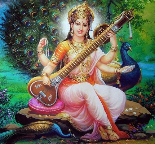 Goddess of Knowledge is Goddess Saraswati