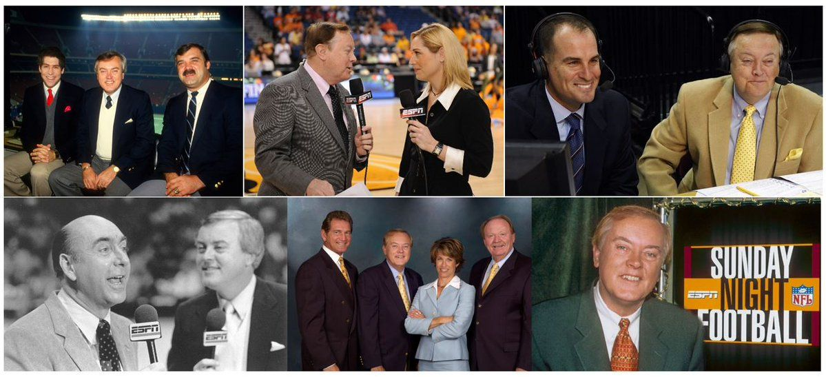 Mike Patrick Has Ended His Amazing Run As Espn Play By Play Commentator Successful Business Tips Success Business Running