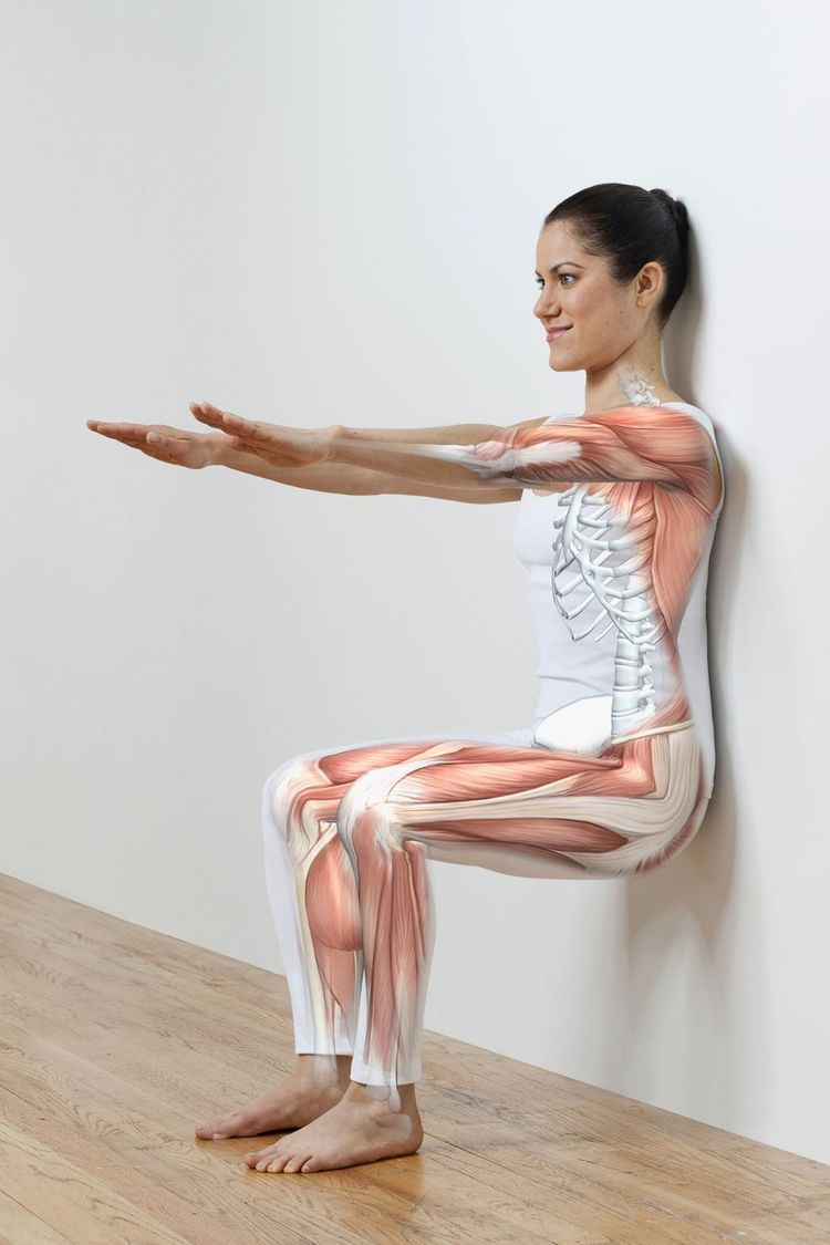 isometric muscle contraction knee exercises